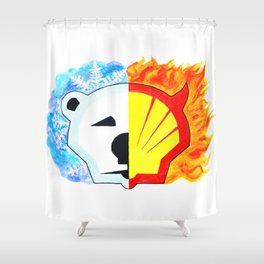 Save the Arctic Shower Curtain
