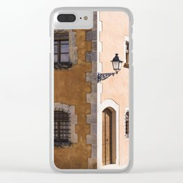 Corner House Clear iPhone Case