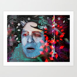 Expression in a voice Art Print