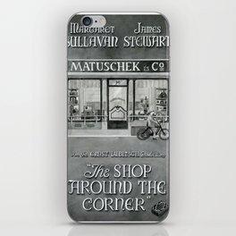 The shop around the corner iPhone Skin