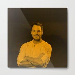 Chris Pratt Metal Print