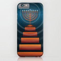 Art Deco Hanukkah Menorah Slim Case iPhone 6s