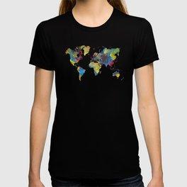 World Map 2050 T-shirt