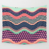 yetiland Wall Tapestries featuring Patternwork XII by Metron