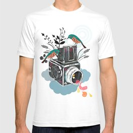 Vintage Camera Hasselblad T-shirt
