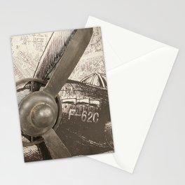 Plain plane Stationery Cards