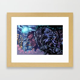 Black Panther: Wakandan Warrior Framed Art Print