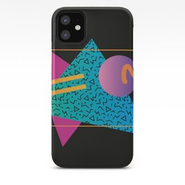 Memphis Pattern 24 - 80s / 90s Retro iPhone Case