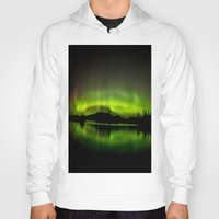northern lights Hoodies featuring The Northern Lights by Nirupam Nigam