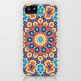 Jericho Mosaic Mandala iPhone Case