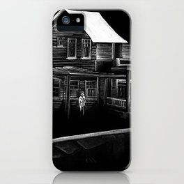 Halloween Home Visitor iPhone Case