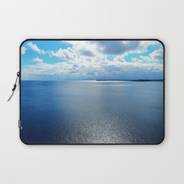 PEI Coastline, seen from the top of the lighthouse in Souris Laptop Sleeve