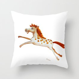 caballito Throw Pillow