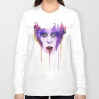mad Long Sleeve T-shirts featuring MAD by Arthur Braud