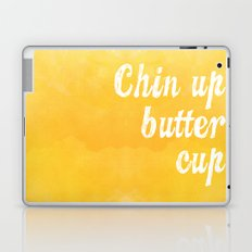 Chin Up Butter Cup Laptop & iPad Skin