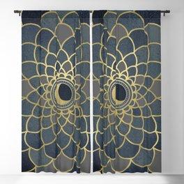 Mystical Moon Mandala Blackout Curtain