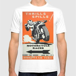 Vintage poster - Motorcycle Races T-shirt