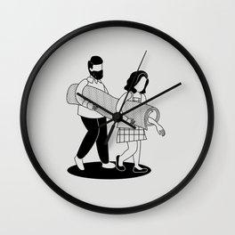 Teamwork Wall Clock