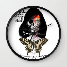 Muerte Wall Clock