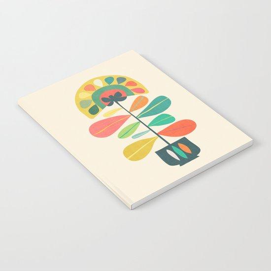 Fan Flower Notebook
