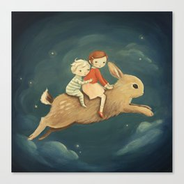 Bunny Kids by Emily Winfield Martin Canvas Print