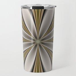 Fractal Flower in CMR 01 Travel Mug