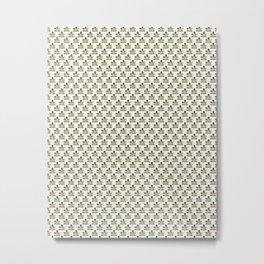 Fisheye Pattern Metal Print