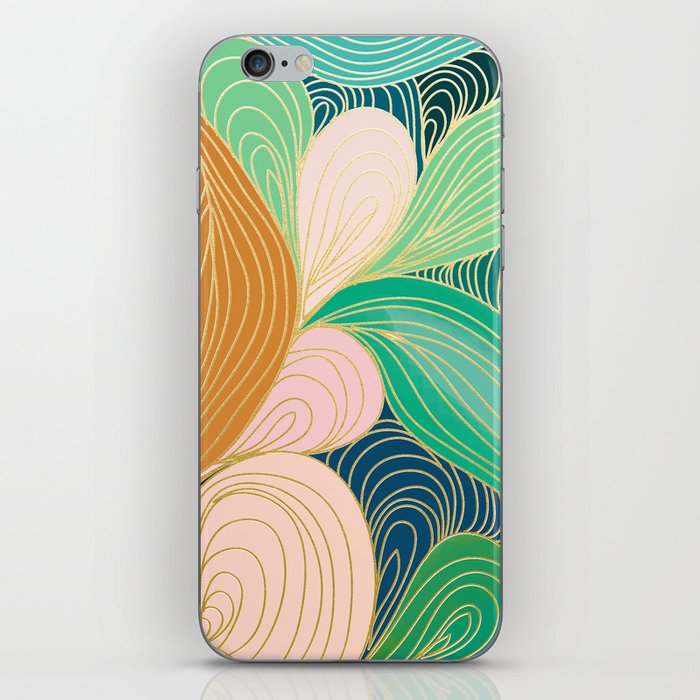 Swirly Interest iPhone Skin