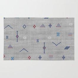 Cactus Silk Pattern in Grey Rug