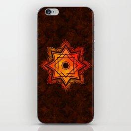 Watercolor Star of Lakshmi - Ashthalakshmi iPhone Skin