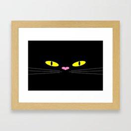 Kuroneko Framed Art Print
