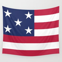 Simplified American Flag Wall Tapestry