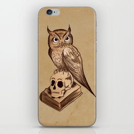 Wise Old Owl iPhone Skin