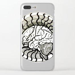 Brain Clear iPhone Case