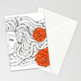 R O S E Stationery Cards