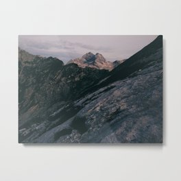 Triglav at sunrise Metal Print