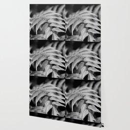 Deep In - leaves & fern Wallpaper