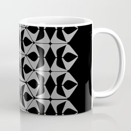 DISTORTION AND PERCEPTION PATTERN  - Black and white Coffee Mug