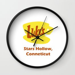 Gilmore Girls - Luke's Diner Wall Clock