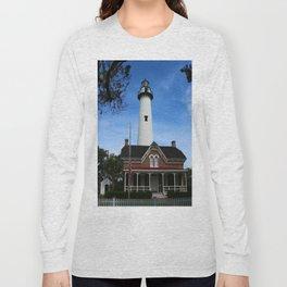 ST. SIMONS LIGHTHOUSE - Golden Isles Long Sleeve T-shirt