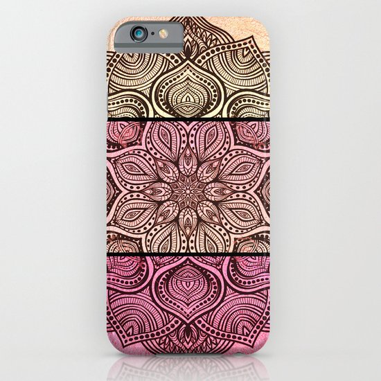 Henna tattoo pinks iphone ipod case by joke vermeer for Tattoo artist iphone cases
