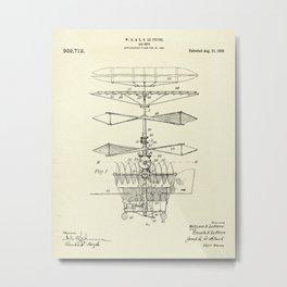 Air Ship-1909 Metal Print