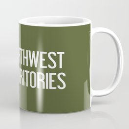 Northwest Territories Moose Coffee Mug
