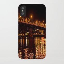 hawthorn bridge iPhone Case
