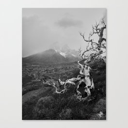 Patagonia Landscapes Canvas Print