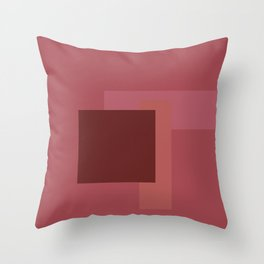 Patch Test 1 Throw Pillow