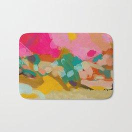 landscape light & color abstract Bath Mat