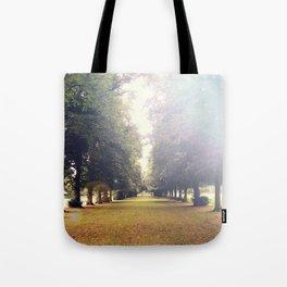 Lens Flare Avenue Tote Bag