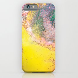 Random Bliss #abstract #modernart iPhone Case