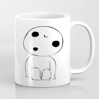 kodama Mugs featuring Kodama  by Freak Clothing